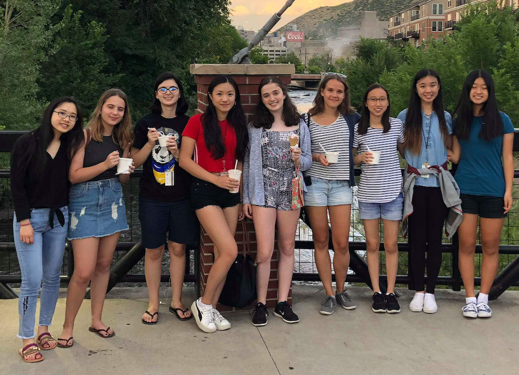 Photo of an RA group at Mathcamp 2018