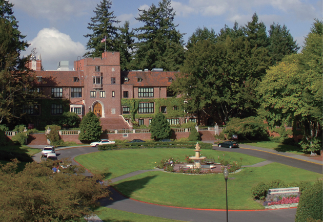 Photo of the University of Puget Sound